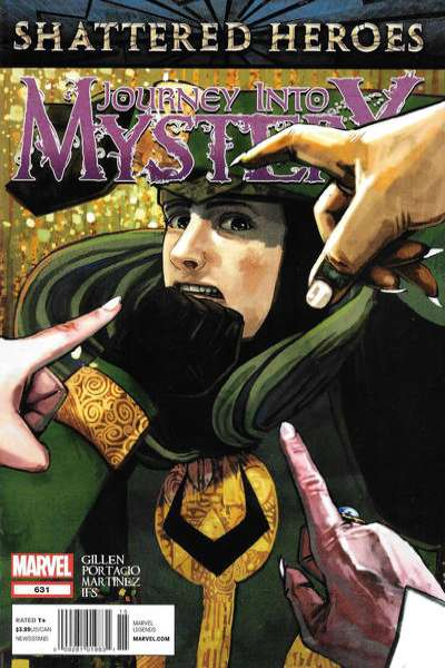 Journey into Mystery #631 Comic Books - Covers, Scans, Photos  in Journey into Mystery Comic Books - Covers, Scans, Gallery