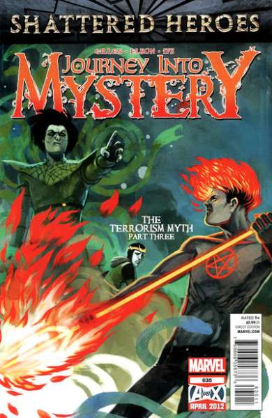 Journey into Mystery #635 comic books - cover scans photos Journey into Mystery #635 comic books - covers, picture gallery