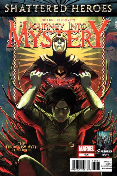 Journey into Mystery #636 comic books - cover scans photos Journey into Mystery #636 comic books - covers, picture gallery
