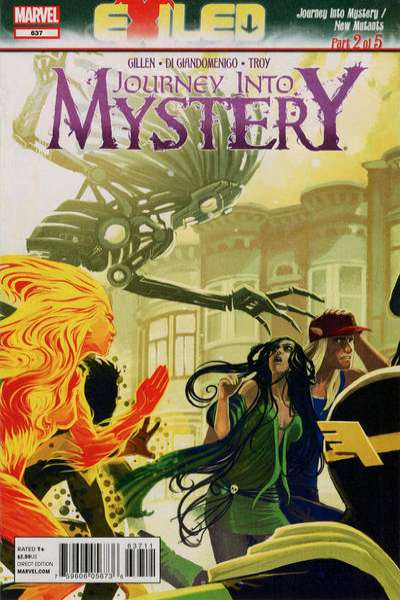 Journey into Mystery #637 Comic Books - Covers, Scans, Photos  in Journey into Mystery Comic Books - Covers, Scans, Gallery