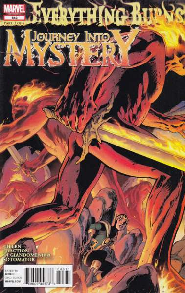 Journey into Mystery #643 Comic Books - Covers, Scans, Photos  in Journey into Mystery Comic Books - Covers, Scans, Gallery