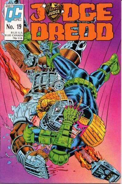 Judge Dredd #19 Comic Books - Covers, Scans, Photos  in Judge Dredd Comic Books - Covers, Scans, Gallery
