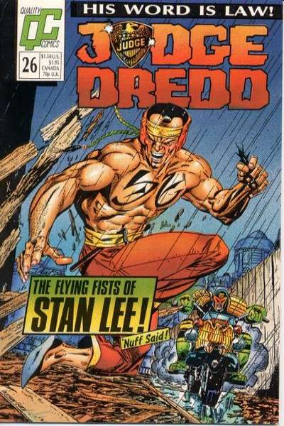 Judge Dredd #26 Comic Books - Covers, Scans, Photos  in Judge Dredd Comic Books - Covers, Scans, Gallery