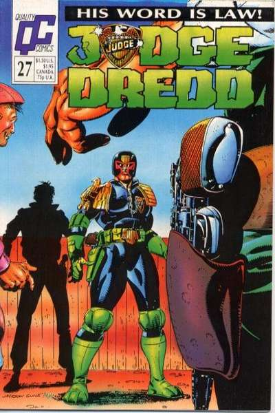 Judge Dredd #27 Comic Books - Covers, Scans, Photos  in Judge Dredd Comic Books - Covers, Scans, Gallery