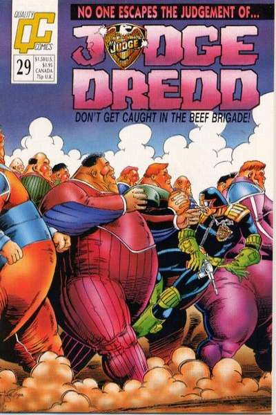 Judge Dredd #29 Comic Books - Covers, Scans, Photos  in Judge Dredd Comic Books - Covers, Scans, Gallery