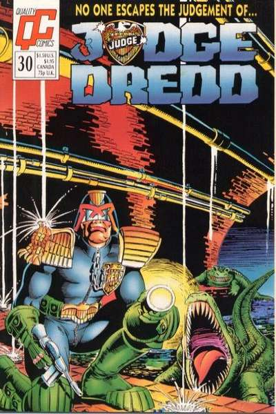 Judge Dredd #30 Comic Books - Covers, Scans, Photos  in Judge Dredd Comic Books - Covers, Scans, Gallery