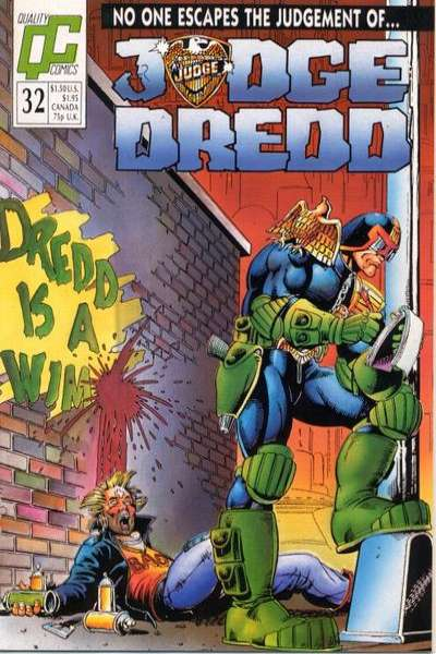Judge Dredd #32 Comic Books - Covers, Scans, Photos  in Judge Dredd Comic Books - Covers, Scans, Gallery