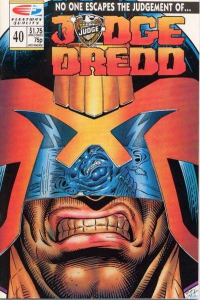 Judge Dredd #40 Comic Books - Covers, Scans, Photos  in Judge Dredd Comic Books - Covers, Scans, Gallery