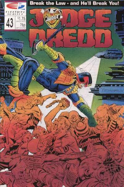 Judge Dredd #43 comic books for sale
