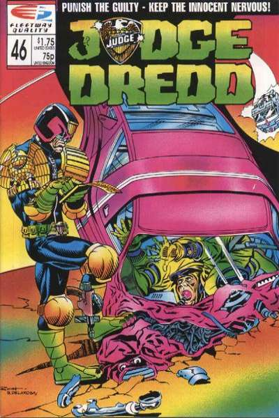 Judge Dredd #46 Comic Books - Covers, Scans, Photos  in Judge Dredd Comic Books - Covers, Scans, Gallery