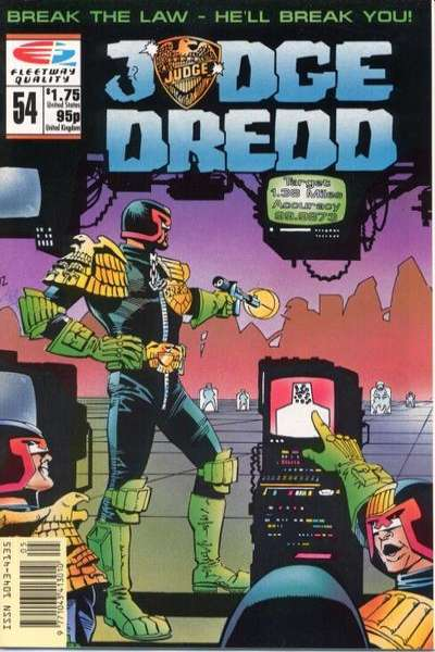 Judge Dredd #54 Comic Books - Covers, Scans, Photos  in Judge Dredd Comic Books - Covers, Scans, Gallery