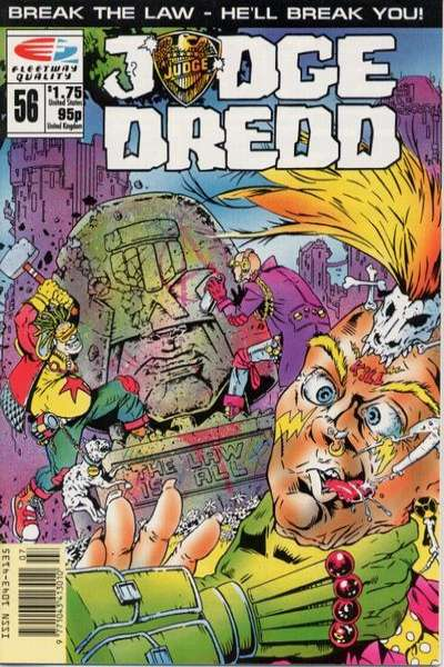 Judge Dredd #56 Comic Books - Covers, Scans, Photos  in Judge Dredd Comic Books - Covers, Scans, Gallery