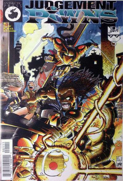 Judgement Pawns #1 comic books for sale