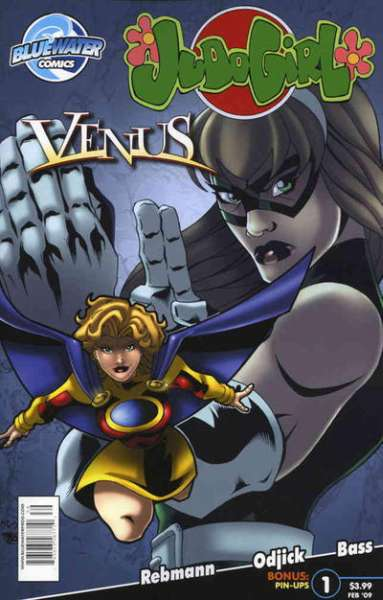 Judo Girl & Venus #1 comic books - cover scans photos Judo Girl & Venus #1 comic books - covers, picture gallery