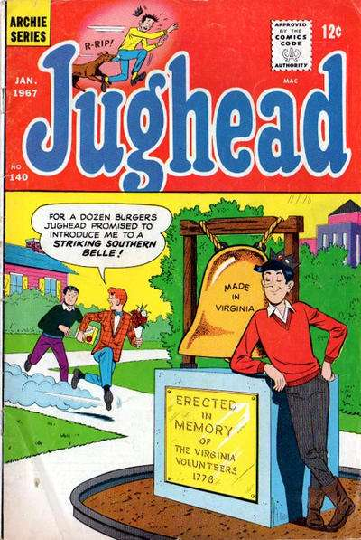 Jughead #140 Comic Books - Covers, Scans, Photos  in Jughead Comic Books - Covers, Scans, Gallery