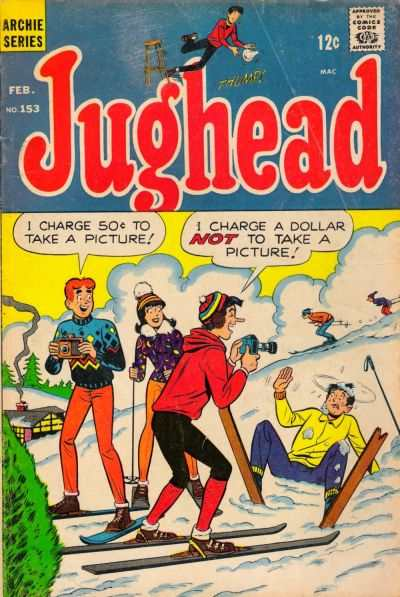 Jughead #153 comic books - cover scans photos Jughead #153 comic books - covers, picture gallery