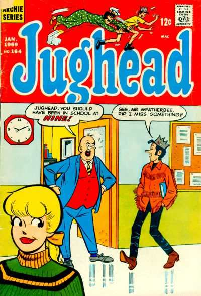 Jughead #164 comic books - cover scans photos Jughead #164 comic books - covers, picture gallery