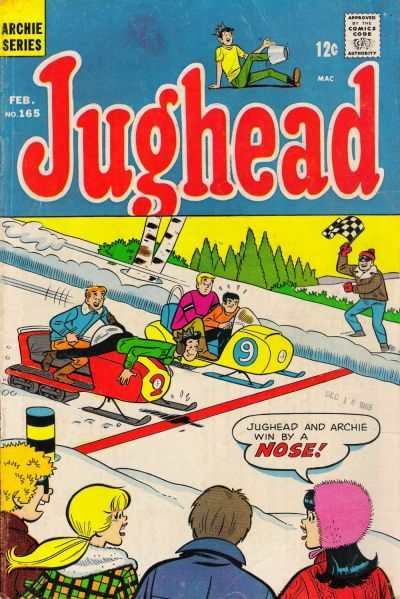 Jughead #165 comic books - cover scans photos Jughead #165 comic books - covers, picture gallery