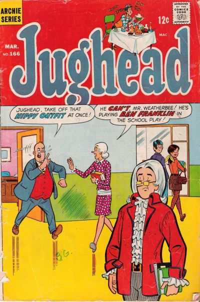 Jughead #166 comic books - cover scans photos Jughead #166 comic books - covers, picture gallery