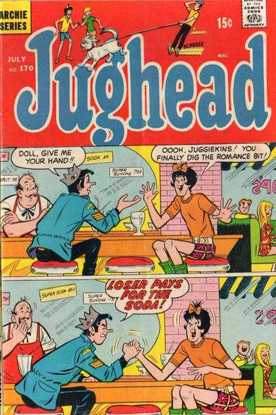 Jughead #170 Comic Books - Covers, Scans, Photos  in Jughead Comic Books - Covers, Scans, Gallery