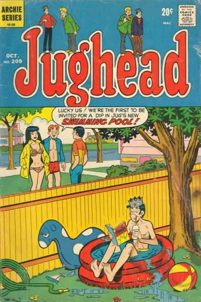 Jughead #209 comic books for sale