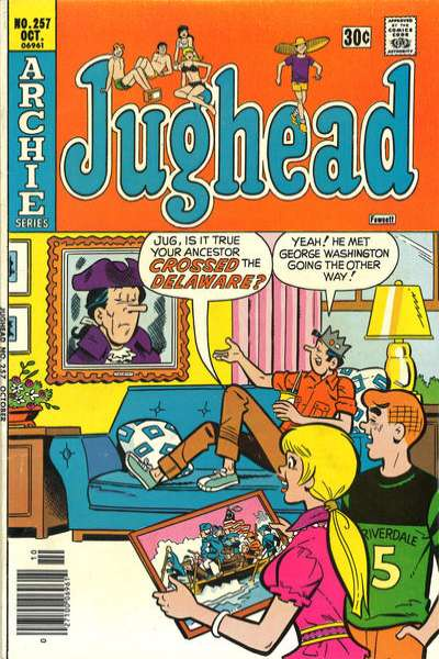 Jughead #257 comic books for sale
