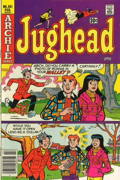 Jughead #261 comic books for sale