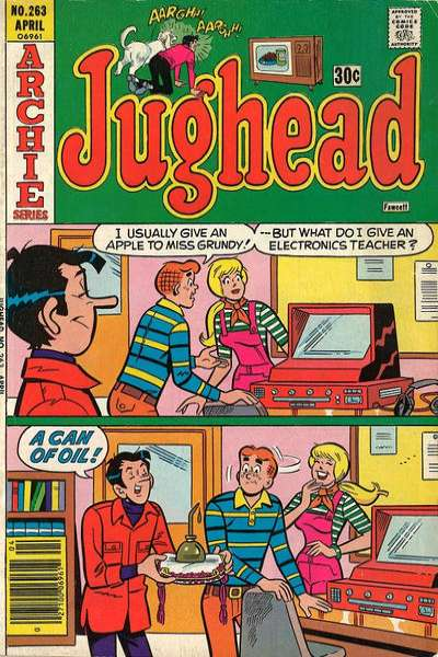 Jughead #263 Comic Books - Covers, Scans, Photos  in Jughead Comic Books - Covers, Scans, Gallery