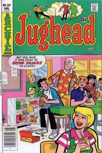 Jughead #267 comic books for sale