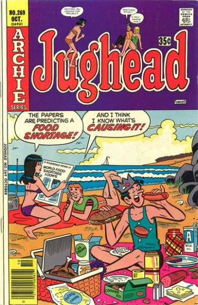 Jughead #269 Comic Books - Covers, Scans, Photos  in Jughead Comic Books - Covers, Scans, Gallery