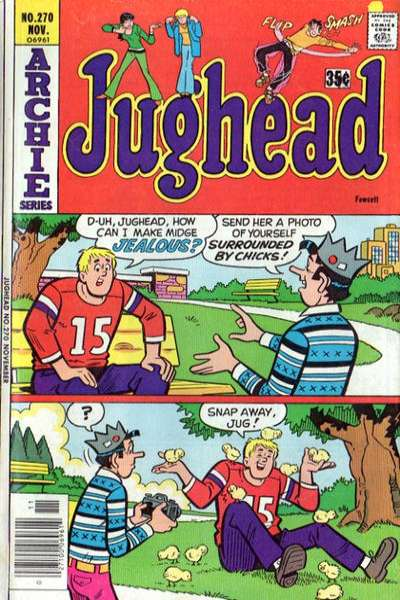 Jughead #270 Comic Books - Covers, Scans, Photos  in Jughead Comic Books - Covers, Scans, Gallery