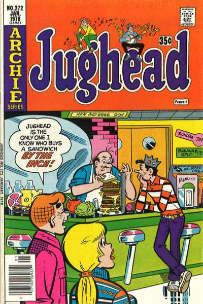 Jughead #272 comic books for sale