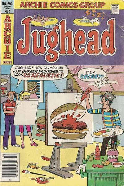 Jughead #293 comic books for sale