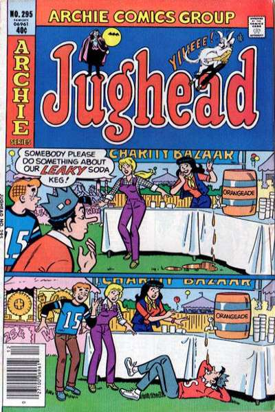 Jughead #295 Comic Books - Covers, Scans, Photos  in Jughead Comic Books - Covers, Scans, Gallery