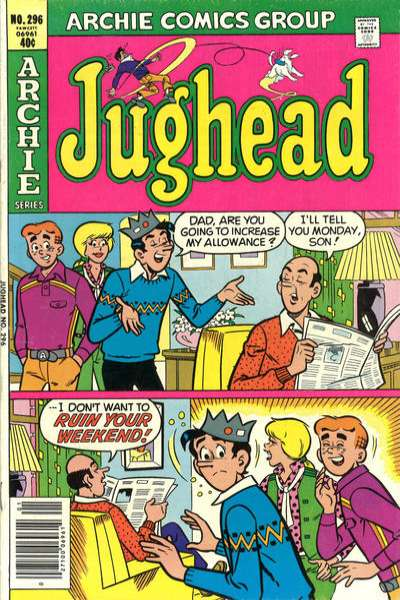 Jughead #296 Comic Books - Covers, Scans, Photos  in Jughead Comic Books - Covers, Scans, Gallery