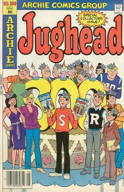 Jughead #300 comic books - cover scans photos Jughead #300 comic books - covers, picture gallery