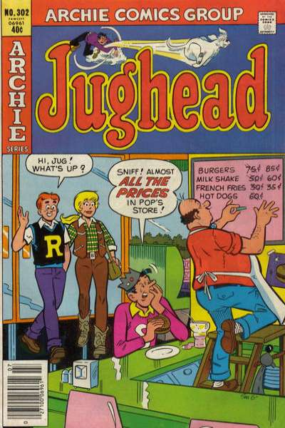 Jughead #302 comic books for sale