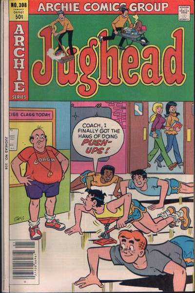 Jughead #308 comic books for sale
