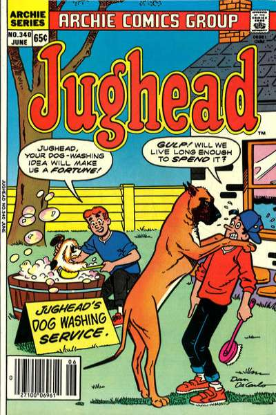 Jughead #340 comic books for sale