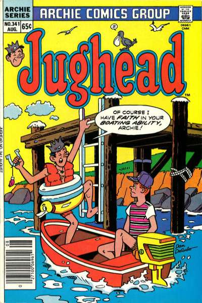 Jughead #341 comic books for sale