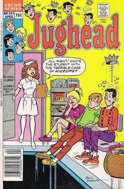 Jughead #351 Comic Books - Covers, Scans, Photos  in Jughead Comic Books - Covers, Scans, Gallery