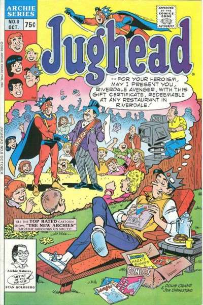 Jughead #8 comic books for sale