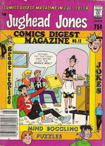 Jughead Jones Comics Digest #12 Comic Books - Covers, Scans, Photos  in Jughead Jones Comics Digest Comic Books - Covers, Scans, Gallery