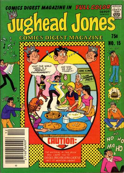 Jughead Jones Comics Digest #15 Comic Books - Covers, Scans, Photos  in Jughead Jones Comics Digest Comic Books - Covers, Scans, Gallery