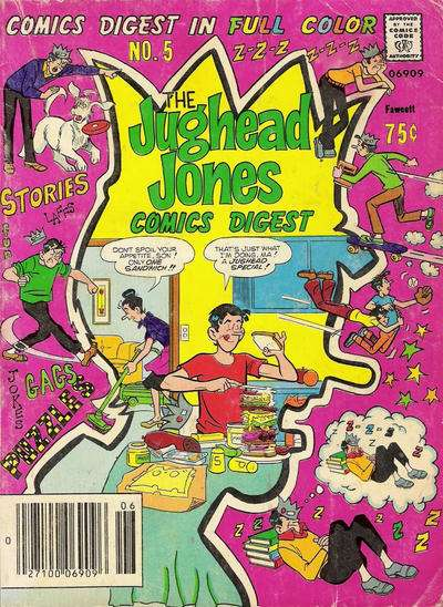 Jughead Jones Comics Digest #5 Comic Books - Covers, Scans, Photos  in Jughead Jones Comics Digest Comic Books - Covers, Scans, Gallery