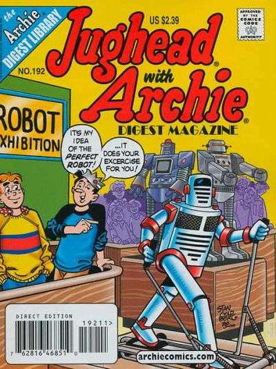 Jughead with Archie Digest #192 Comic Books - Covers, Scans, Photos  in Jughead with Archie Digest Comic Books - Covers, Scans, Gallery