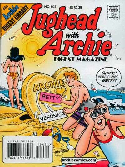 Jughead with Archie Digest #194 Comic Books - Covers, Scans, Photos  in Jughead with Archie Digest Comic Books - Covers, Scans, Gallery