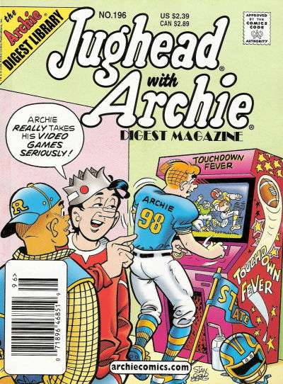 Jughead with Archie Digest #196 Comic Books - Covers, Scans, Photos  in Jughead with Archie Digest Comic Books - Covers, Scans, Gallery