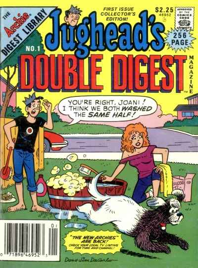 Jughead's Double Digest Magazine Comic Books. Jughead's Double Digest Magazine Comics.