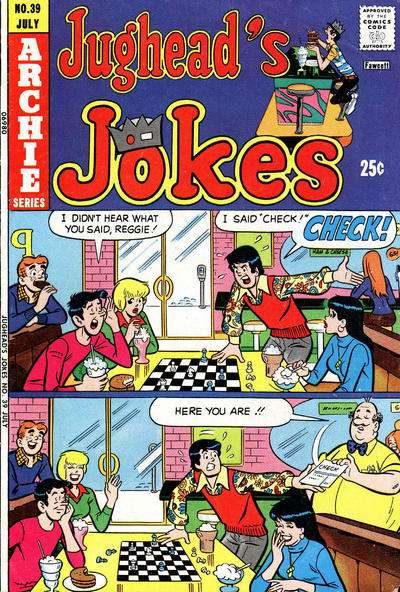 Jughead's Jokes #39 Comic Books - Covers, Scans, Photos  in Jughead's Jokes Comic Books - Covers, Scans, Gallery